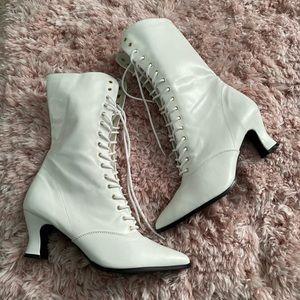 Funtasma white boots